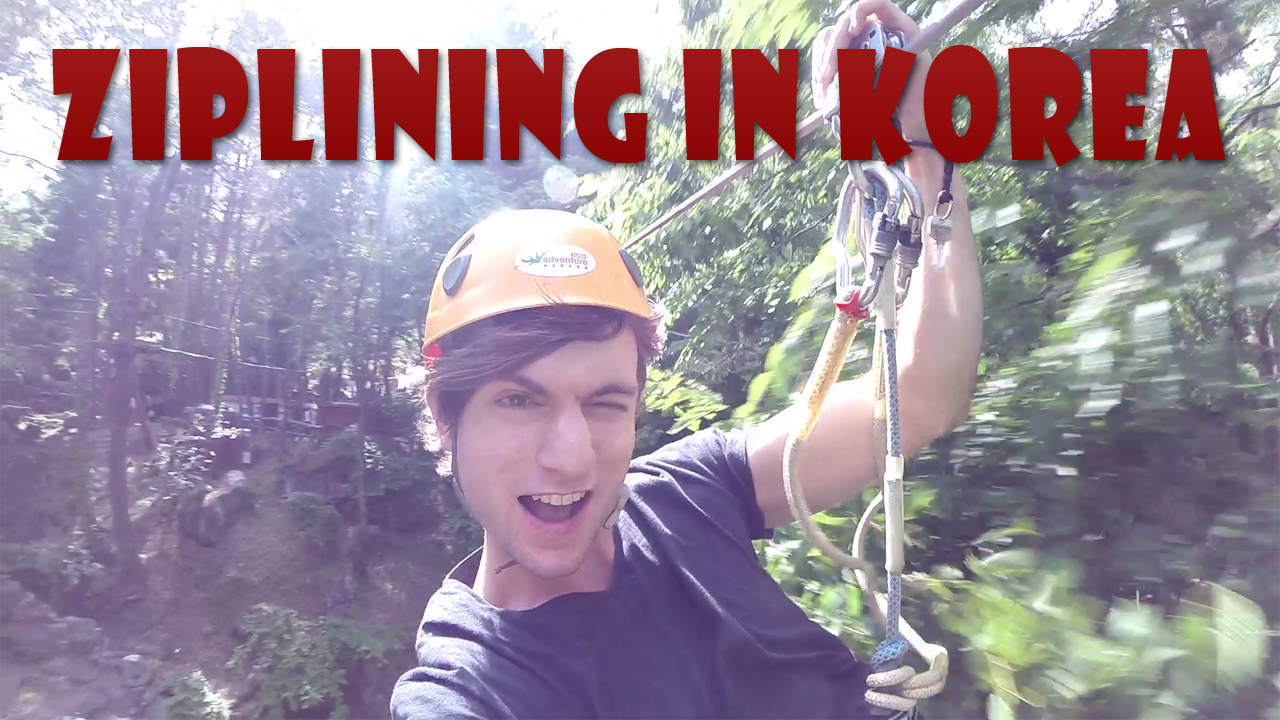 zipline in korea article